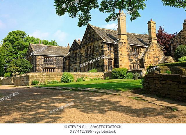 Oakwell Hall, Birstall, West Yorkshire, England, UK