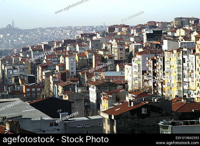 Dächer Taksim Istanbul