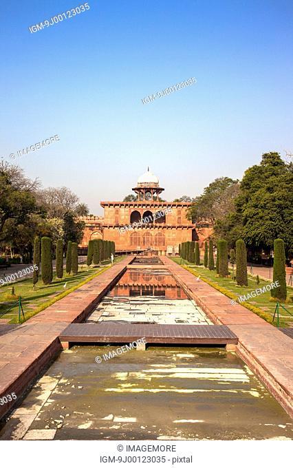 Taj Mahal, Agra, Uttar Pradesh, India, Asia, Architecture