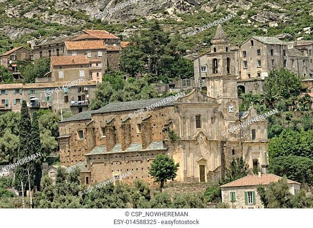 Santo Pietro di Tenda, Church