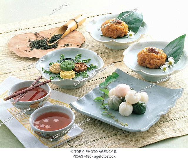 YaksikSweet Rice Cake And Dasik,Korean Food