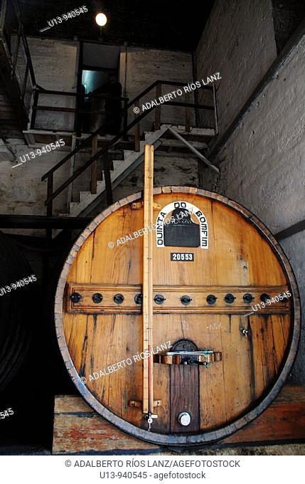 Barrel, Pinheiro, Duoro, Valley, Portugal