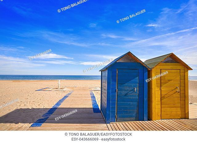 El Campello beach Muchavista playa in Alicante at Costa Blanca of Spain