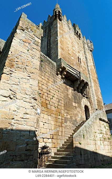Castle of Chaves, District Vila Real, Portugal, Europe