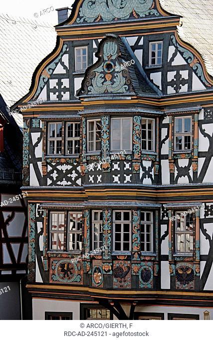 Killinger house timber-framed house built 1615 Idstein Hesse Germany Killinger Haus König-Adolph-Platz