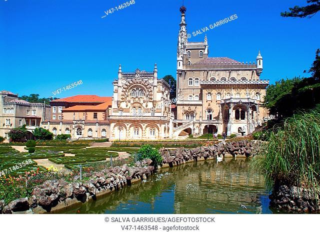 Hotel Palas Bussaco, Luso, Coimbra, portugal, Europa