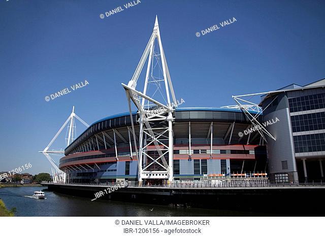 Millennium Stadium sports centre, Cardiff, Wales, United Kingdom, Europe