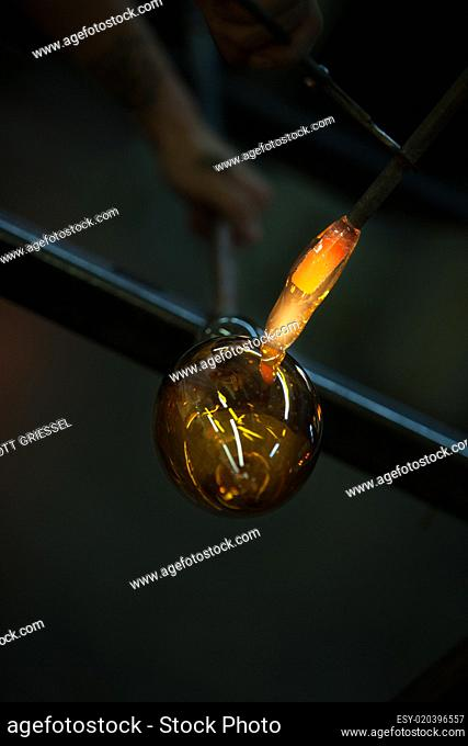 Forming Glass Object with Torch