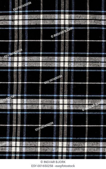 checkered fabric pattern