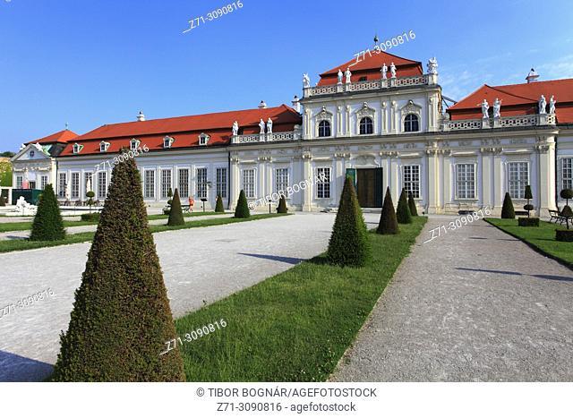 Austria, Vienna, Unteres Belvedere, palace, garden,