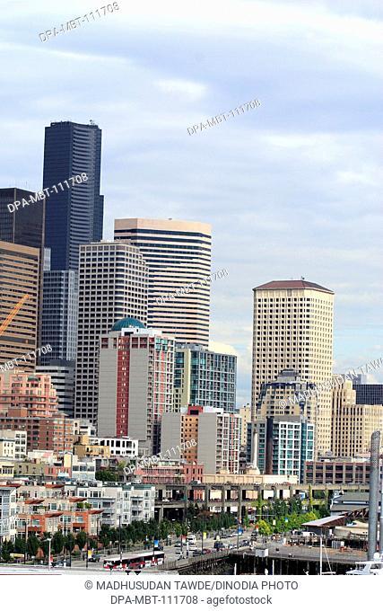 skyline ; buildings ; New Orleans ; Louisiana ; U.S.A. United States of America