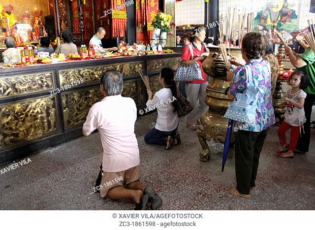 Buddhist temple, Goddess of Mercy Temple, UNESCO World Heritage Site, Georgetown, Penang