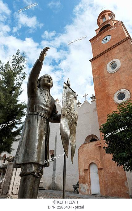 Statue and Sistine Chapel of Mexico; Guanajuato, Mexico