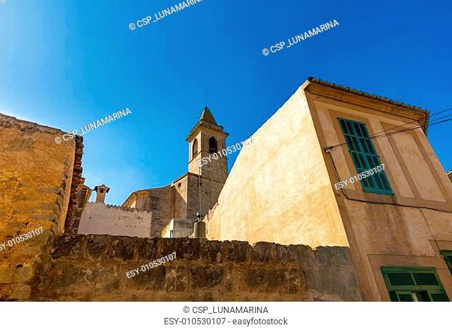 Majorca Santanyi village in Mallorca Balearic island