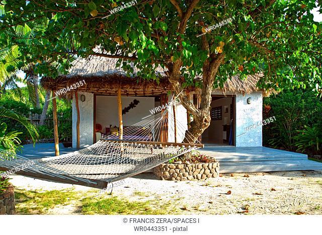 Hammock And Tropical Island Resort Bungalow