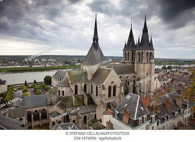 Cathedral, Blois, Loir-et-Cher, France
