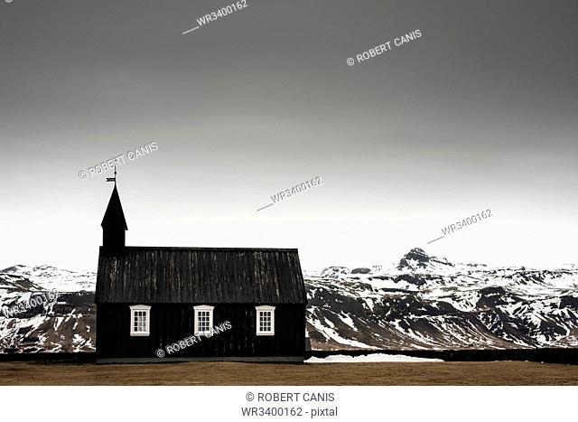 Budir Church, Snaefellsnes, Iceland, Polar Regions