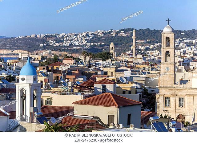 Old town, Chania, Crete, Greece, Europe