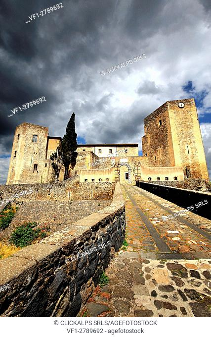 Gateway to the Norman Castle of Melfi, Basilicata, Italy