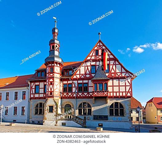 historisches Rathaus Harzgerode im Harz