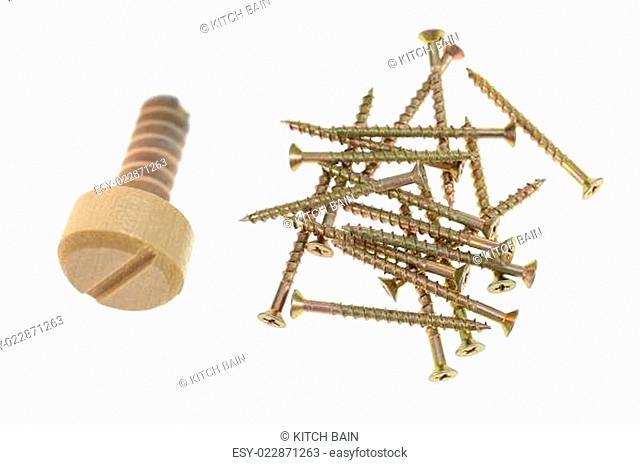 Wooden Screw