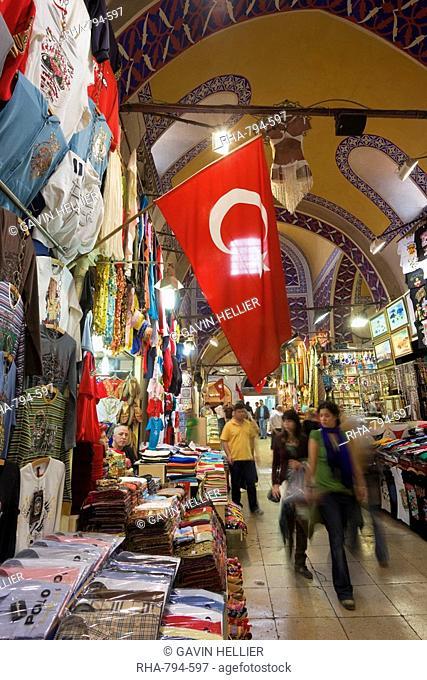 Grand Bazaar Kapali Carsi, Istanbul, Turkey, Europe