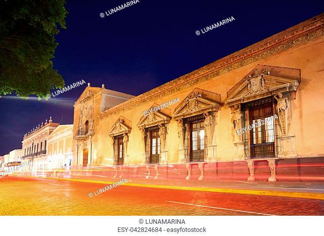 Merida Montejo house National heritage of Yucatan Mexico