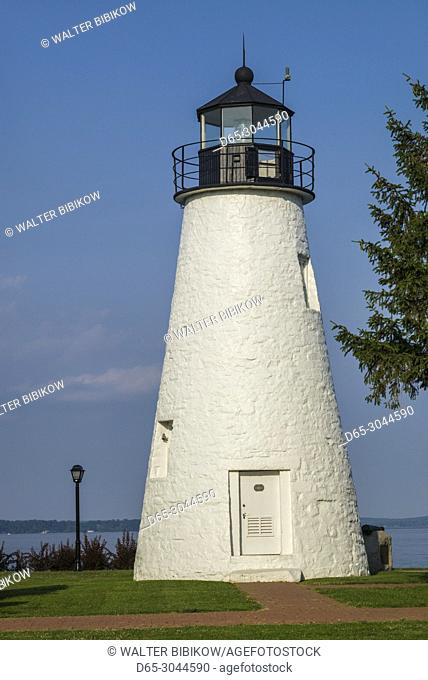 USA, Maryland, Havre de Grace, Concord Point Lighthouse