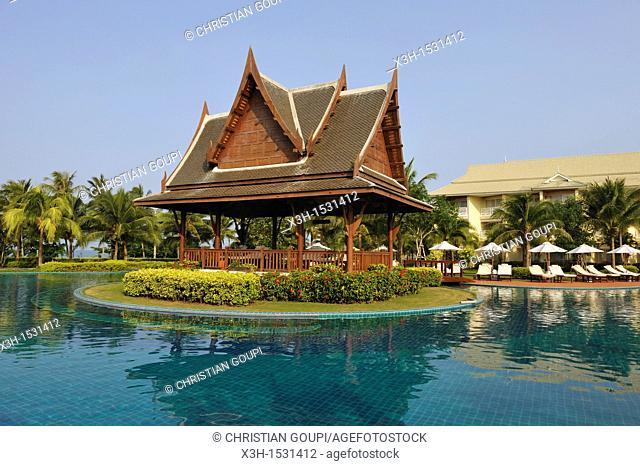 Luxury Phokeethra Sofitel hotel, Krabi, Thailand, Asia