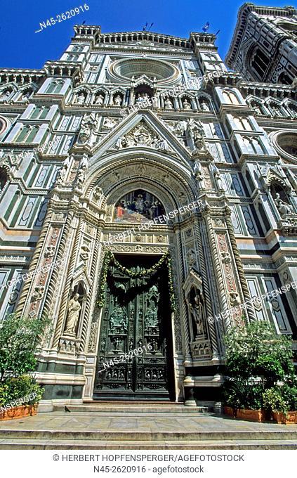 Basilica, Cathedral Santa Maria del Fiore, Florence, Tuscany, Italy