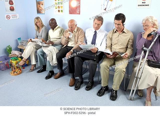 General practice waiting room