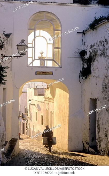 Matrera gate,Arcos de la Frontera, Pueblos Blancos 'white towns', Cadiz province, Andalucia, Spain
