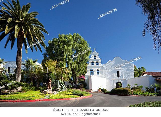 USA-California-San Diego City-Old Mission of San Diego de Alcala