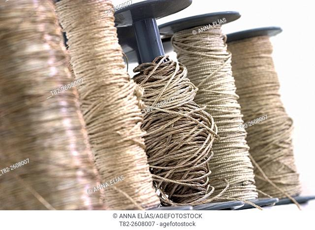Embroidery threads, Andalusia, Spain