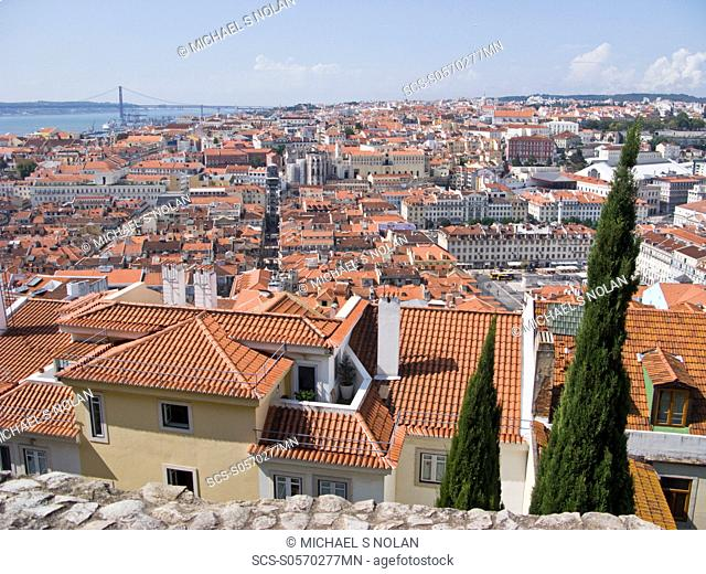 Views from Lisbon, Portugal Lisbon Portuguese: Lisboa is the capital and largest city of Portugal Lisbon is situated at 38842' north, 985' west