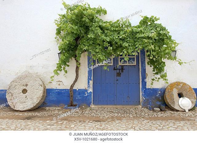 Farmhouse with Gate Millstones. Algarve. Portugal