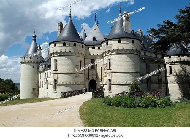 France, Centre, Loire Valley , Chaumont sur Loire castle