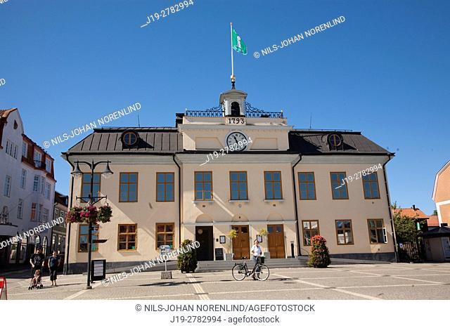 Town hall Västervik, Sweden