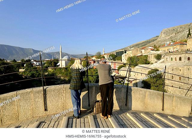 Bosnia and Herzegovina, Mostar, listed as World Heritage by UNESCO, Old Bridge (Stari most)