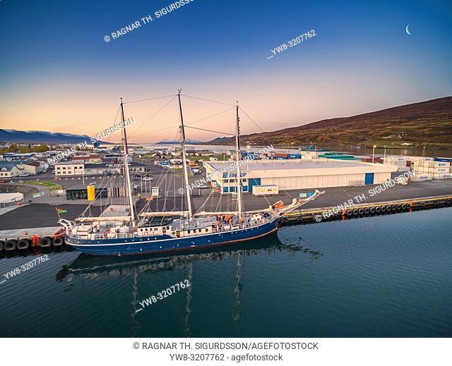 Akureyri Harbor, Northern Iceland