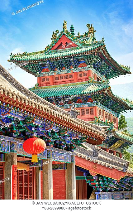 Shaolin Monastery, Zen Buddhist temple, Henan province, China
