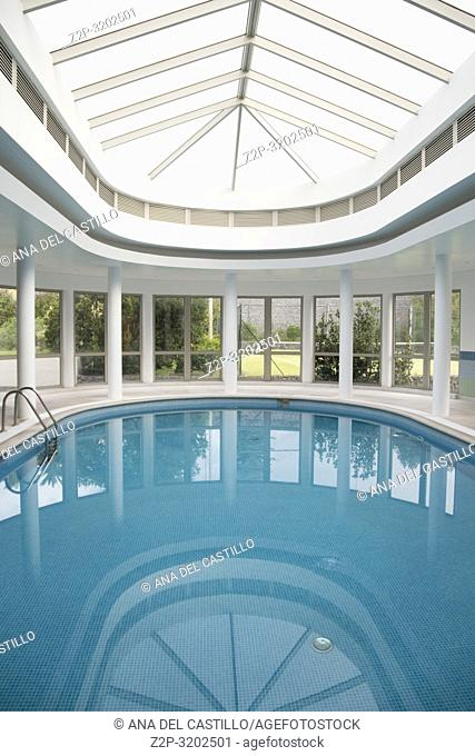 Interior swimming pool Terceira Azores Portugal