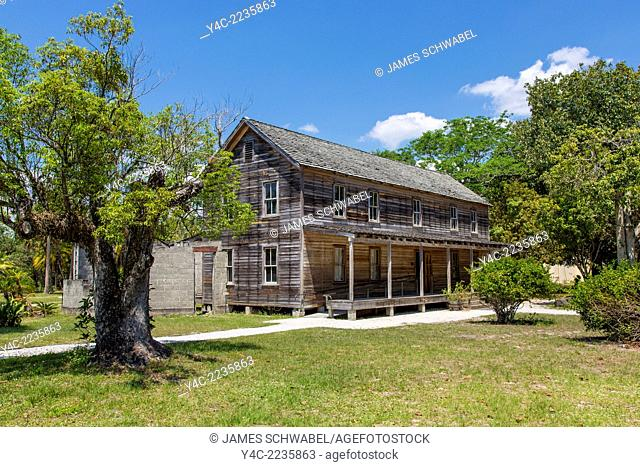 Koreshan State Historical Site in Fort Myers Florida
