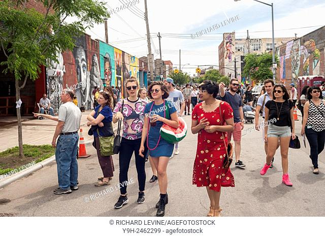 Hipster williamsburg brooklyn Stock Photos and Images   age
