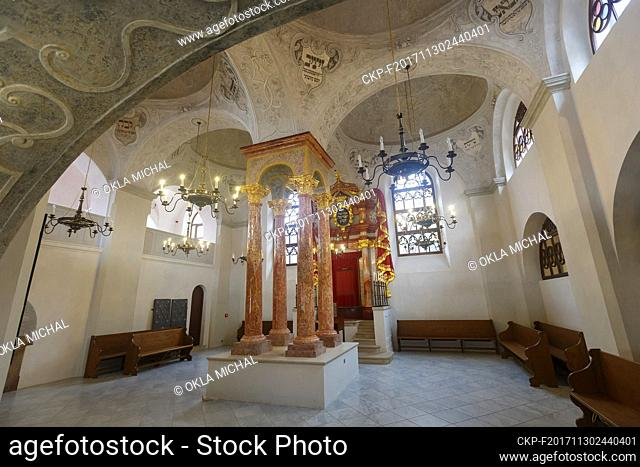 Upper Synagogue in the town Mikulov, centre of Czech wine-making, October 20, 2017. (CTK Photo/Michal Okla)