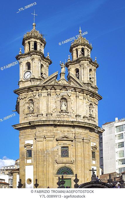 Santuario de la Virgen Peregrina , Pontevedra, Galicia, Spain