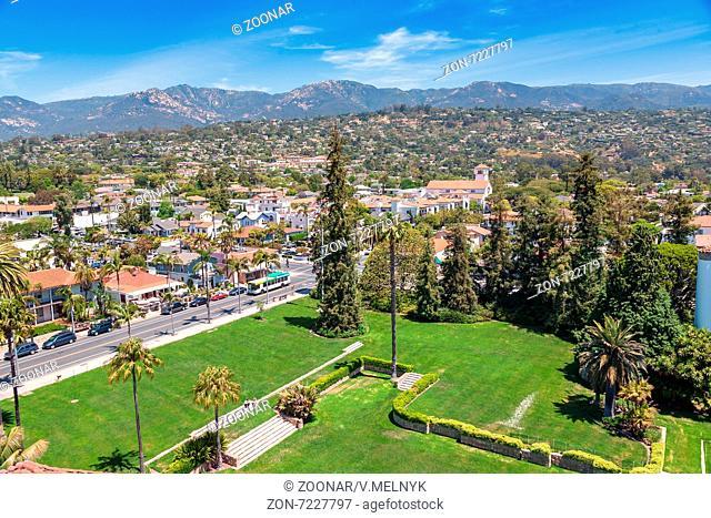 View from Santa Barbara