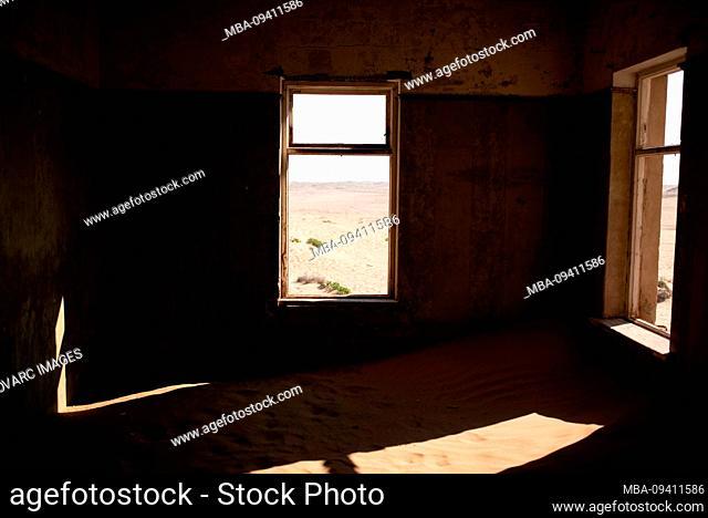Abandoned house, Kolmannskuppe, Namibia