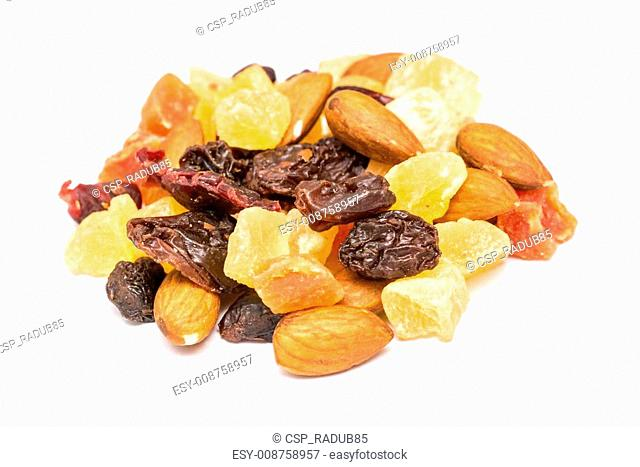 Dried Fruits Isolated