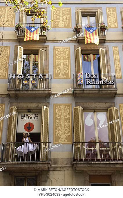 Erotic Museum, La Rambla, Barcelona, Spain